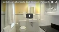 how to design and remodel small bathroom