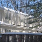 An ice dam is not difficult to identify. Hanging roof ice generally means some damage isbeing done